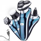 Electric Razor Waterproof Facial Brush Precision Trimmer Nose Cordless
