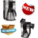 Mr. Coffee 10 Cup Optimal Brew Thermal Maker Home office Kitchen Machine New