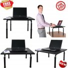 Adjustable height standing desk. Convert your desk to a