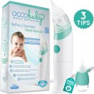 OCCObaby Baby Nasal Aspirator - Safe Hygienic and Quick Battery Operated...