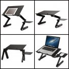Laptop Tablet Desk Portable Table Bed Sofa Folding Adjustable W/ Stand Tray NEW