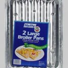 "E-Z Foil Super Broiler Pan 11-3/4"" X 8-1/2"" X1-1/4"" ( 2 COUNT PACK OF 12 )"