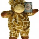 New Super Soft Fabric Cozy Giraffe Microwavable Heatable Pain Relievers Plush