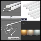 6-Packs Ceiling and Under Cabinet LED Light Integrated Single Fixture w/ Switch