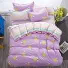4-pcs Full Size Kids Bedding Sets Bedroom Set With One Duvet Cover 2 Pillowcases