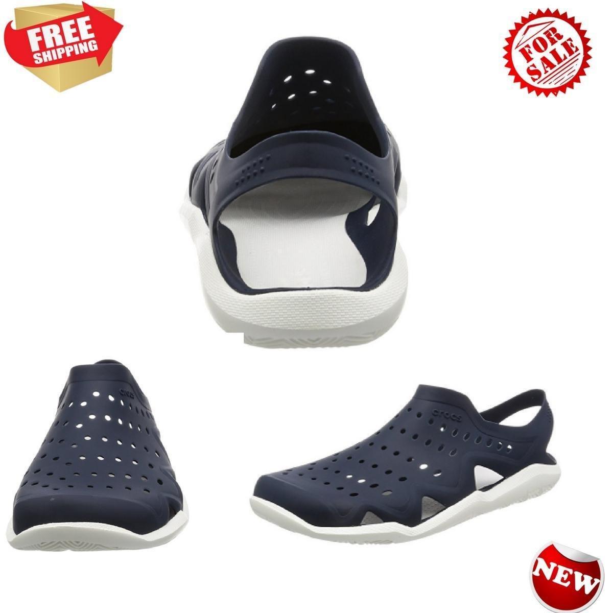 Crocs Imported Synthetic SoleWave Shoe Men Clogs Shoes Slides Sandals, Croslite