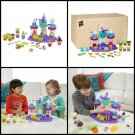 Play Doh Ice Cream Castle Modeling Compound Colors Play Set NEW Kids Toy Gift