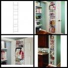 Adjustable 8 Tier Kitchen Wall Door Spice Pantry Storage Rack  Shelves 12 Inch