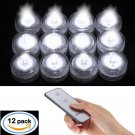 New Waterproof Reusable Submersible LED Wedding Tower Vase Tea Light with Remote