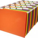 AmazonBasics Hanging File Folders - Letter Size (25 Pack) Assorted Colors