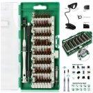 Precision Screwdriver set, E.Durable 60pcs Magnetic Driver bits, Repair Tool Kit