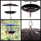 Umbrella Bird Feeder Steel Outdoor backyard wild bird Feeding Station hanging