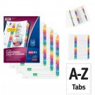 Customizable Table of Contents Dividers Ready Index Multicolor Tabs 3 Sets New