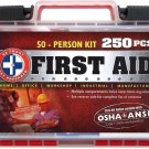 """Be Smart Get Prepared 250 Piece First Aid Kit, Exceeds OSHA ANSI Standards..."
