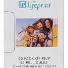 50-pack Zero Ink Sticky Backed Augmented Reality Photo and Video Printer Film US