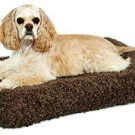 Deluxe Pet Bed Dog Cat Comfortable Plush Cushion Pillow non skid 26 to 40 pounds