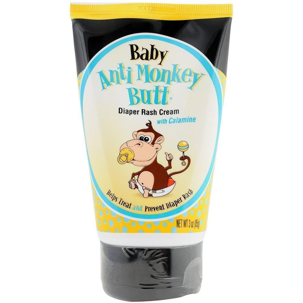 Baby Anti-Monkey Butt Cream, 3 Ounce