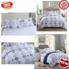 GOOFUN-J2K 3pcs Duvet Cover Set/Bedding Set(1 + 2 Pillow Shams) Lightweight...