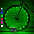 New 1-Tire pack Super Cool LED Bike Safety Styled Wheel Lights with Batteries US