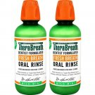 TheraBreath Fresh Breath Dentist Formulated Oral Rinse - Mild Mint Flavor,...