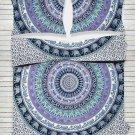 Hippie Bohemian Mandala Barmeri Full Indian Medallion Bedding Comforter Cover US
