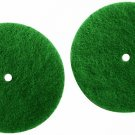 Genuine Koblenz Scrubbing Pads - 2 and Plastic Retainers (colors vary)
