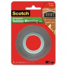 3M Scotch 4011 Exterior Mounting Tape, 1 in x 60
