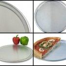 NEW 16 Inch Round Baking Wide Rim Pizza Pan 18 Gauge Aluminum Standard Weight