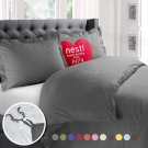 Bedding Duvet Cover Comforter Insert Luxury Queen 3 Piece Set Bedspead