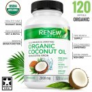 Coconut Oil Capsules for Hair Growth, Radiant Skin & Natural Weight Loss -...
