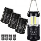 Brightest Camping Lantern (EMITS 350 LUMENS!) 4 Pack LED - Equipment Gear...