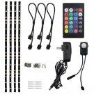 "LED Multi-color TV Bias Lighting Backlight Strip for 32"" to 60"" Flat HDTV,..."