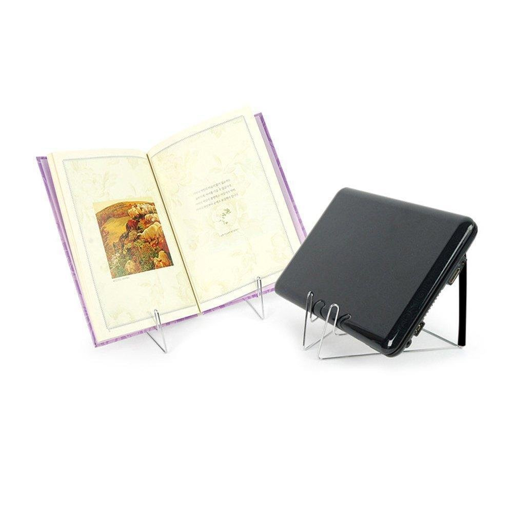 Metal Bookstand Adjustable Portable Book Document Steel Reading Holder Display