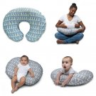 Boppy Naked Pillow Slipcover Classic Gray Giraffe Water Resistant Protective New