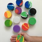 1 Silicone 22ml Large Nonstick Dab Container Jar Food Grade
