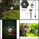 Maggift Lantern Outdoor Shepard Path Hanging Solar Lights, 2 Pack