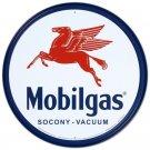 Mobilgas Pegasus Tin Sign 12 x 12in