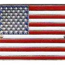 United States of America Flag - Hiking Stick Medallion