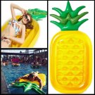 Inflatable Pineapple Pool Float Raft Large Outdoor Swimming Toy Floatie Lounge