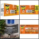 Raid Concentrated Deep Reach Fogger Household Pest Control Insect repellent 4 pc