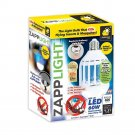 ZappLight LED 60W Bug Zapper Bulb by BulbHead Insect and Mosquito Fits...