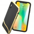 New Durable iPhone X Case Slim Cover Protective Bumper Shockproof Hard back