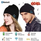 Bluetooth Music Beanie Unisex 4.2 Knit Hat Stereo Headphones and Hands Free Mic