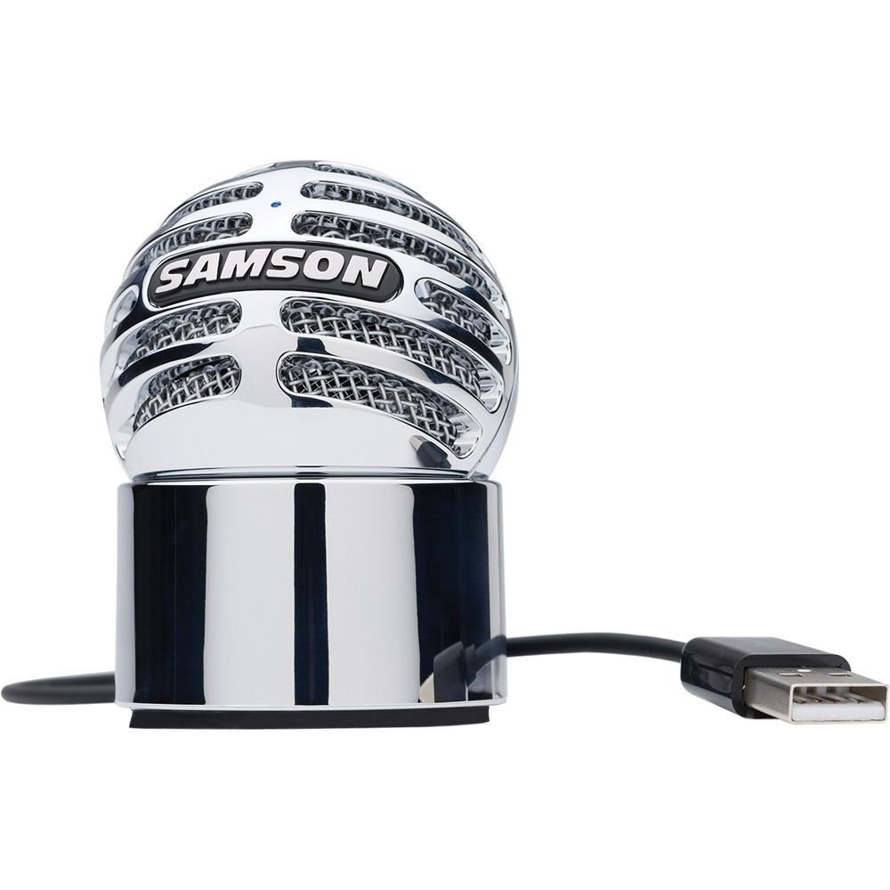 Samson Meteorite USB Portable Cardioid Condenser Microphone with Magnetic Base