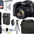 Canon PowerShot SX530 HS 16MP 50x Optical Zoom HD IS Digital Camera +64GB Bundle