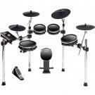 Alesis DM10 MKII Studio Kit, Nine-Piece Electronic Drum Kit with Mesh Heads