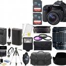 Canon EOS 80D 24.2MP Wi-Fi DSLR Camera +18-55mm IS STM Lens +SanDisk 48GB Bundle