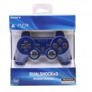 NEW Original Official Genuine Sony PS3 Wireless Dualshock 3 Controller (Blue)