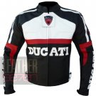 Ducati 3039 Black Pure Cowhide Leather Safety Biker Jacket By ButtCo Group