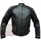 Honda 5524 Black Pure Cowhide Leather Racing Safety Jacket By ButtCo Group